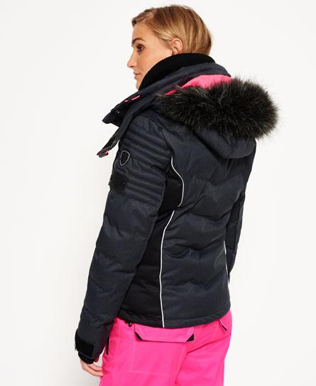 superdry doudoune de ski vestes et manteaux pour femme. Black Bedroom Furniture Sets. Home Design Ideas