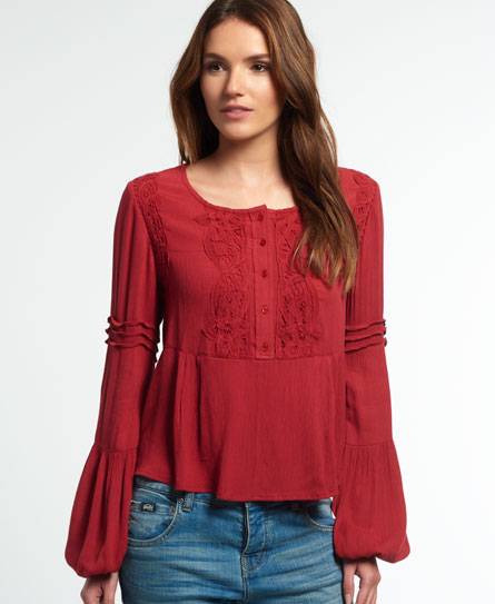 Superdry Roswell Lacy Blus