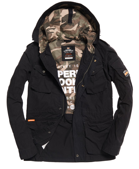 Superdry Rookie Para Parka Jacket