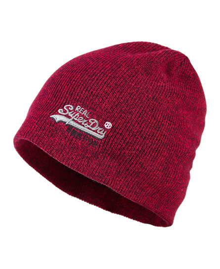 red hook twist Superdry Basic Tonal Embroidery Beanie