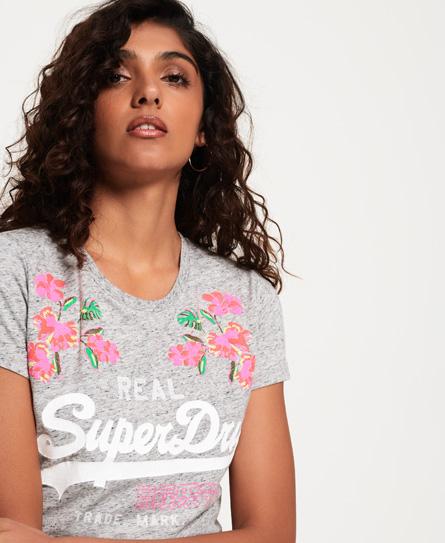 Superdry Camiseta con logo Vintage bordado abombado