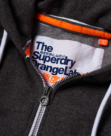 Superdry Orange Label Cali Zip Hoodie