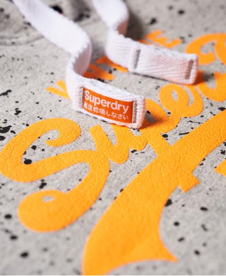 Superdry Premium Goods Paint Splatter Hoodie