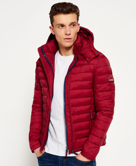 Superdry Fuji Double Zip Kapuzenjacke
