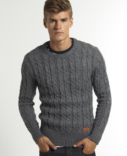 Superdry Jacob Knit - Men's Sweaters