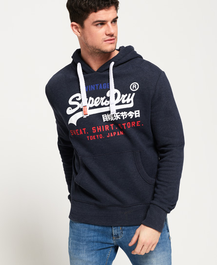 Superdry Sweat Shirt Store Tri Hoodie
