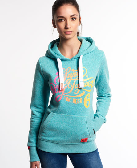 superdry tokyo 6 hoodie damen hoodies. Black Bedroom Furniture Sets. Home Design Ideas