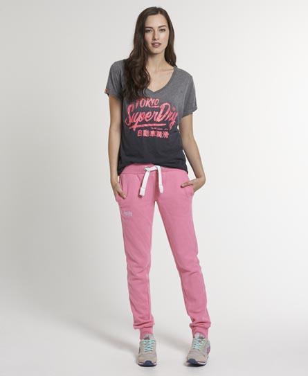 Superdry Slim Fit Joggers Pink