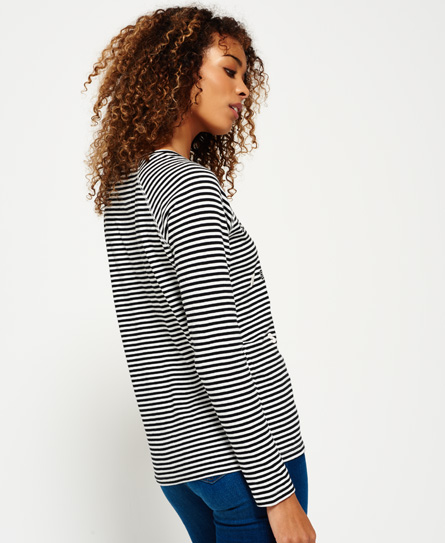 Superdry Raglan top met appliqué
