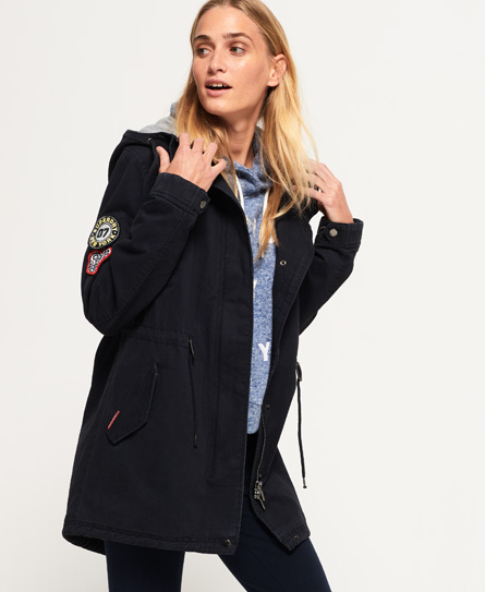 Pacific Patch Parka Jacket by Superdry