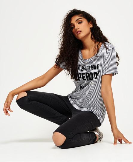 Gestreiftes Parisian T-Shirt