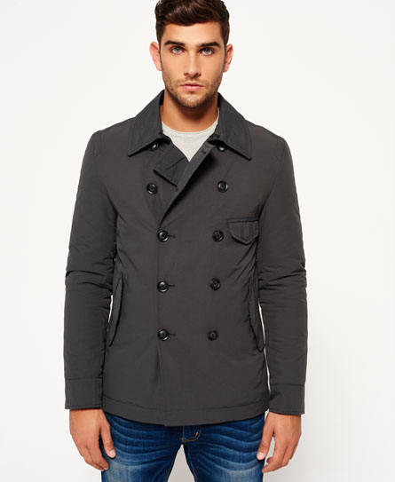 Blockade Aviator Pea Coat