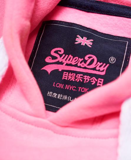 Superdry Vintage Logo Stripe Fade Hoodie