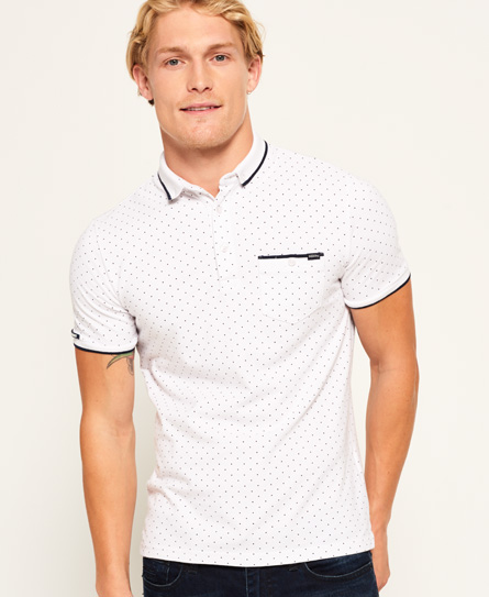 Superdry City Tipped Field Polohemd