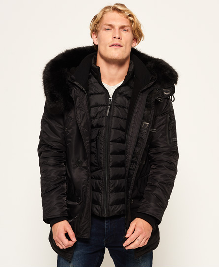Superdry Superdry Sd-3 parka - Black Edition