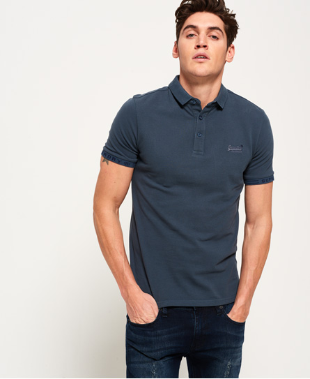 Superdry City Jaquard Pique Polo