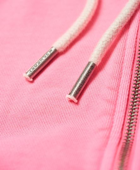 Superdry Garment Dyed Zip Hoodie