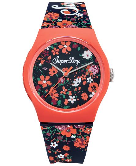 azul floral ditsy Superdry Reloj de pulsera Urban Ditsy
