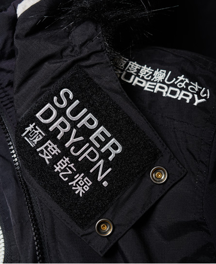 Superdry Veste à capuche en fourrure à doublure sherpa SD-Wind Attacker