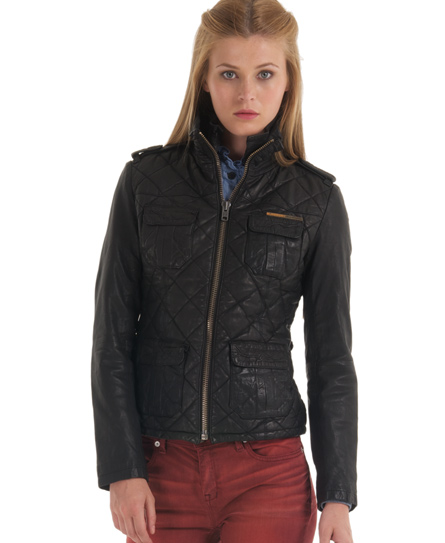 Superdry Ramona Quilted Jacket Women S Leathers