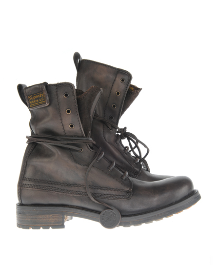 Superdry New Trawler Boot Brown