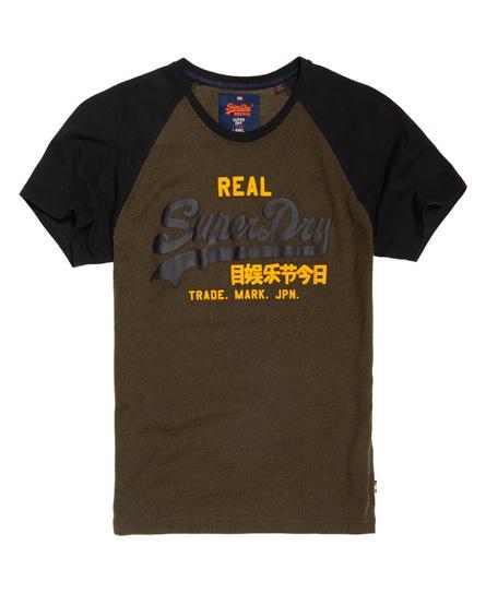Vintage Logo Raglan T-shirt