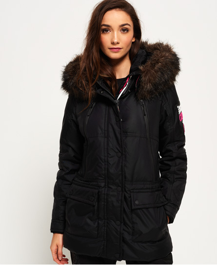 Superdry Canadian Down Ski Parka Jacket - Womens Superdry Snow
