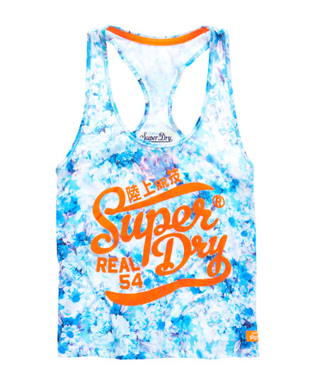 Superdry Happy Floral Vest Top