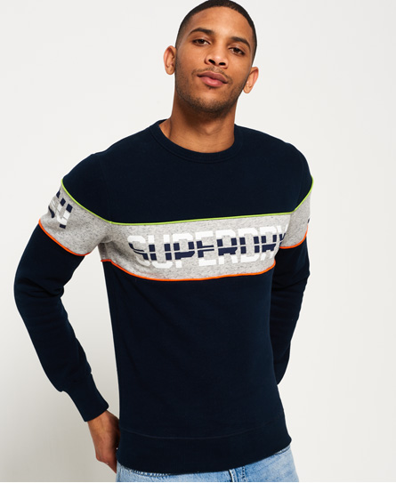 Superdry Retro Stripe Crew Sweatshirt