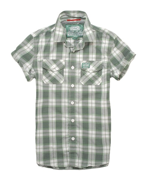 Superdry Washbasket Shirt Green