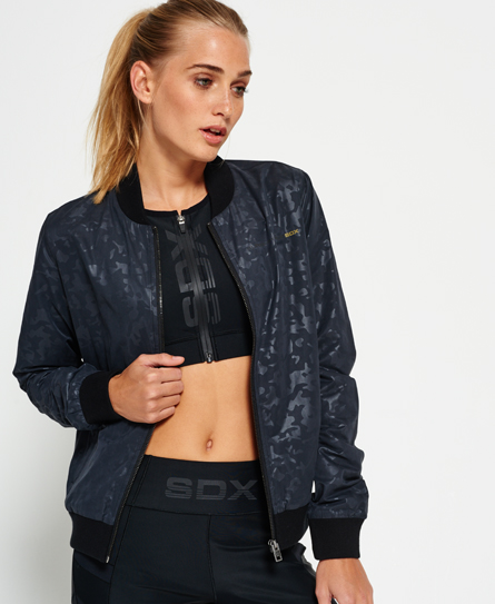 Superdry SdX Metallic Bomber Jacket