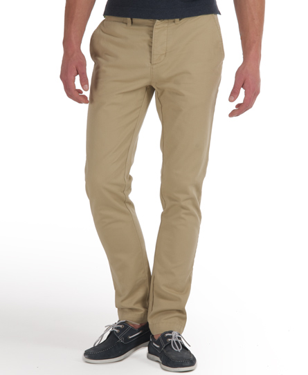 Superdry Commodity Slim Chino Brown