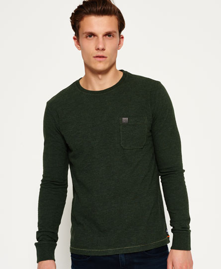 ellis green Superdry Surplus Goods T-shirt met zak