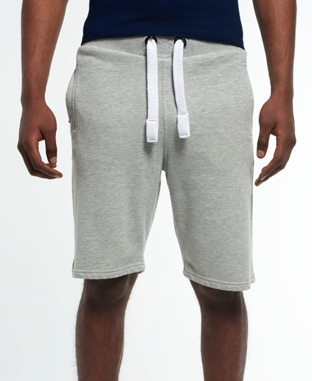 Superdry IE Runner Lite Jogger Shorts Grey