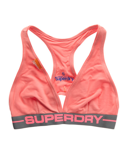 Superdry Sports Style Bra Pink