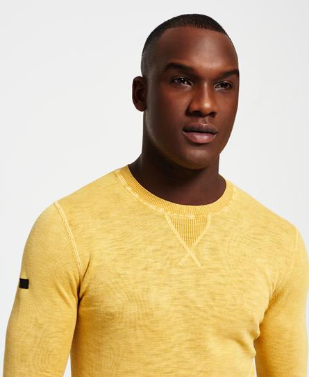 Superdry Garment Dyed L.A. Crew Neck Jumper