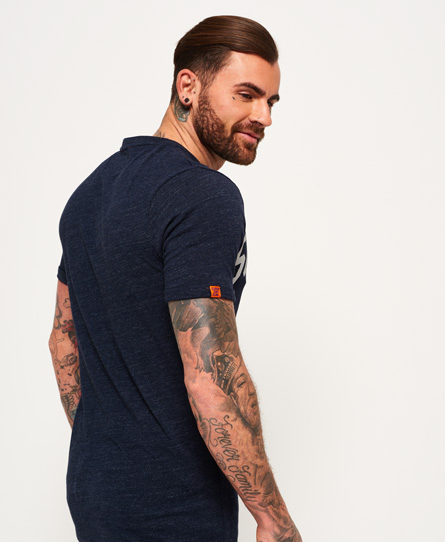 Superdry Varsity Long Line T-Shirt