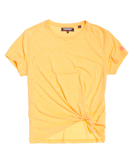 Superdry Geknoopt Burnout T-shirt