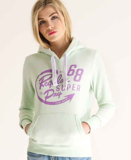 Superdry Regular Dry Hoodie Green