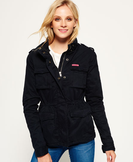 medianoche Superdry Cazadora militar Winter Rookie
