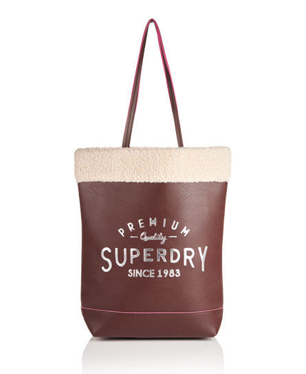 Womens - Taka Shopper Bag in Brown | Superdry