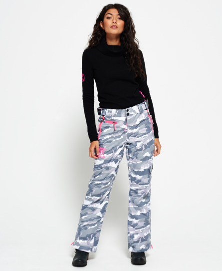 snow camo Superdry Pantaloni Ultimate Snow