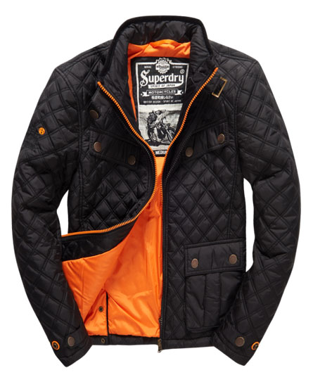 Superdry Apex Quilt Jacket - Men's Jackets