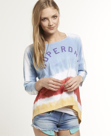 Superdry Tie Dye Escape Crew Multi