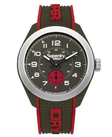 Superdry Navigator Armbanduhr im Militärstil