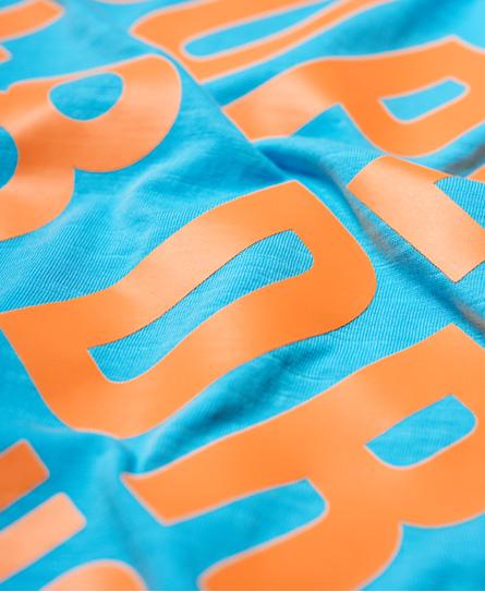 Superdry Surplus Goods Longline Graphic T-Shirt
