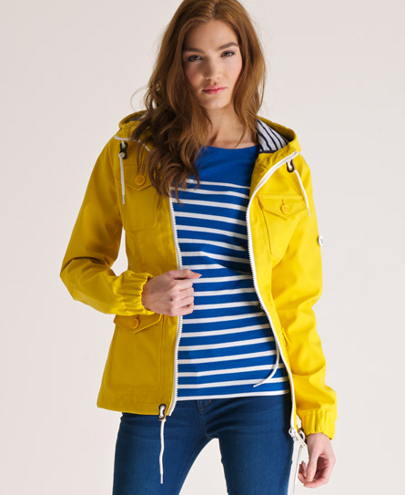 Superdry Boat Jacket Yellow