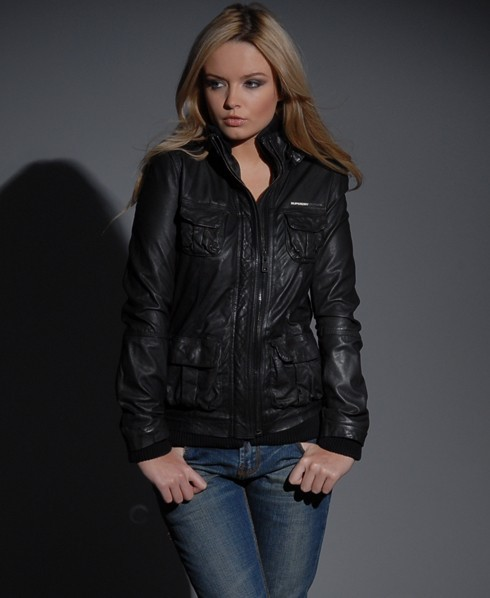 Womens leather jackets superdry