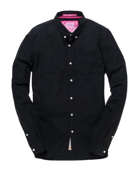 Superdry London Button Down Shirt Black
