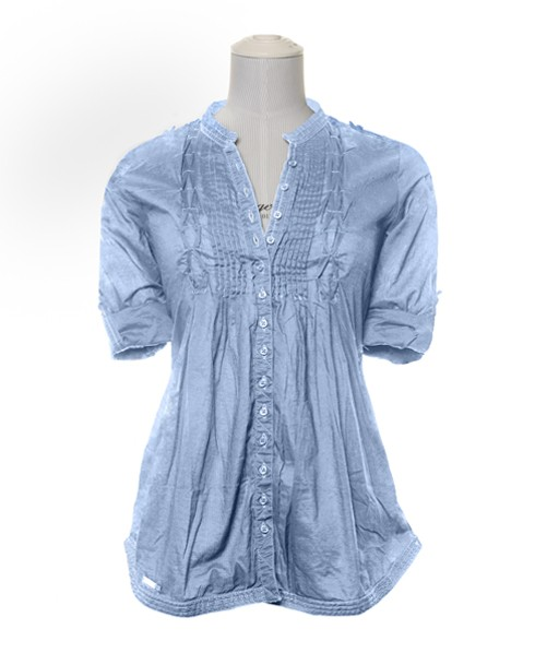 Superdry Pierrot Blouse Blue
